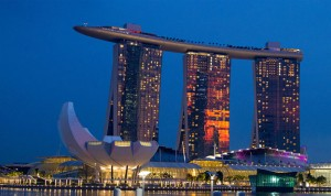 The World's Top 4 Casinos - Marina bay sands in Singapore
