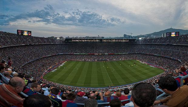 Barcelona Tourist Review - Football stadium