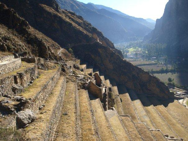 A typical view of Peru's Sacred Valley
