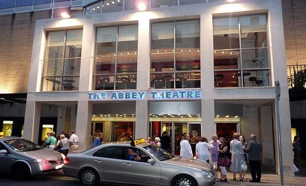 The Abbey Theater in Dublin City