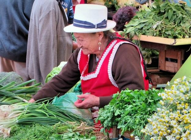 Settling In Ecuador - Buy from the local farmers