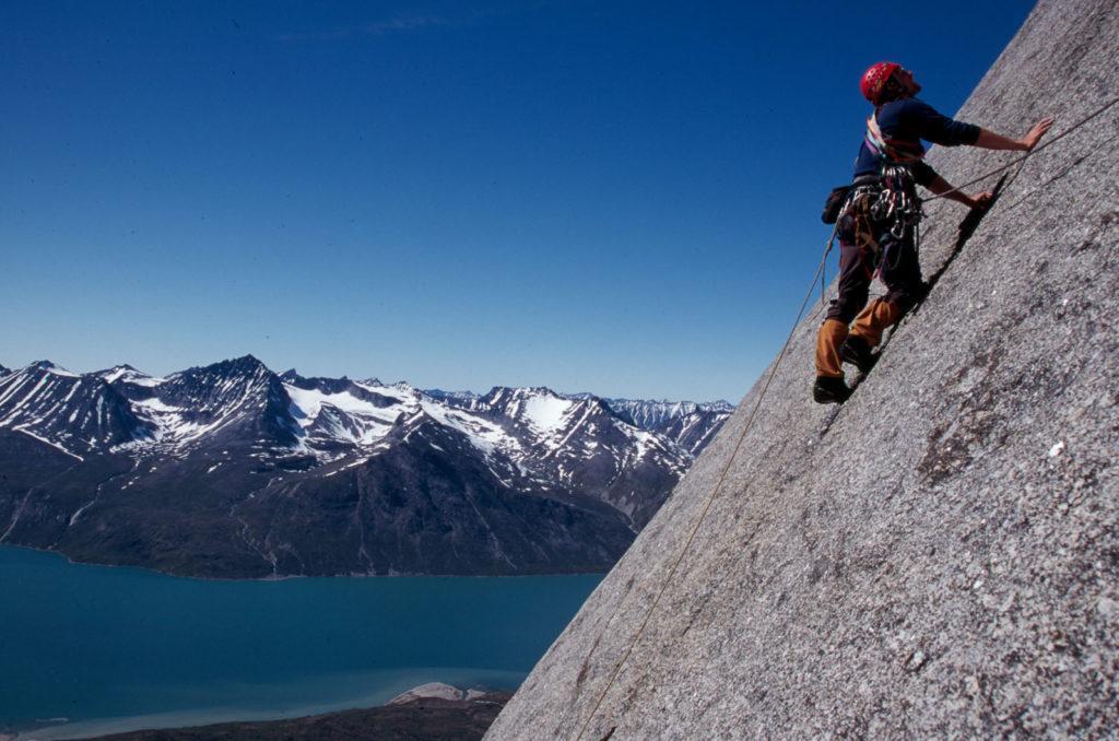 greenland rock climbing