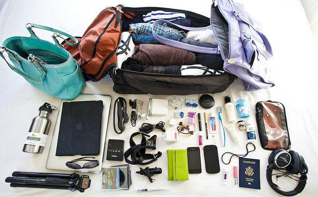 What to pack on holidays
