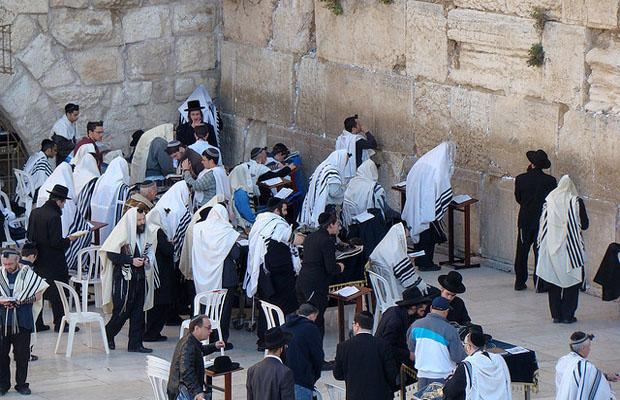 Western Wall in Jerusalem City