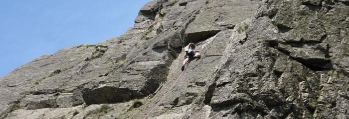 lake district rockclimbing