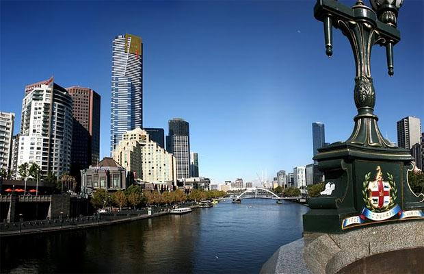Eureka Tower at Melbourne City