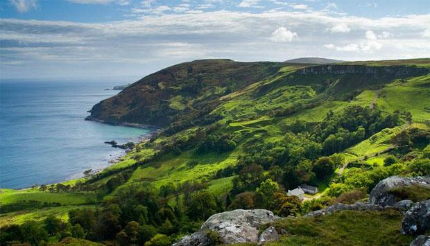 Travel to Northern Ireland for the country side.