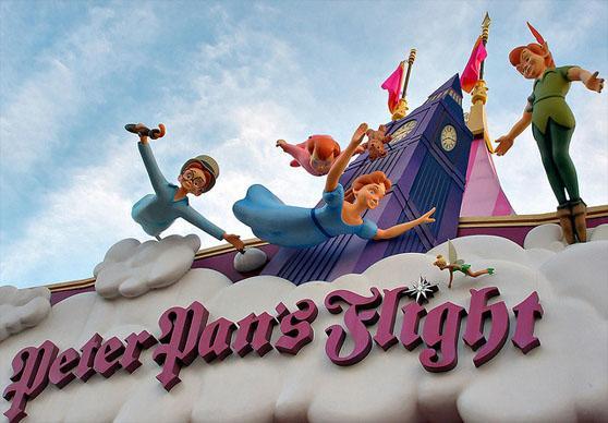 Attractions in Disney