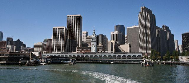 San Francisco city harbour