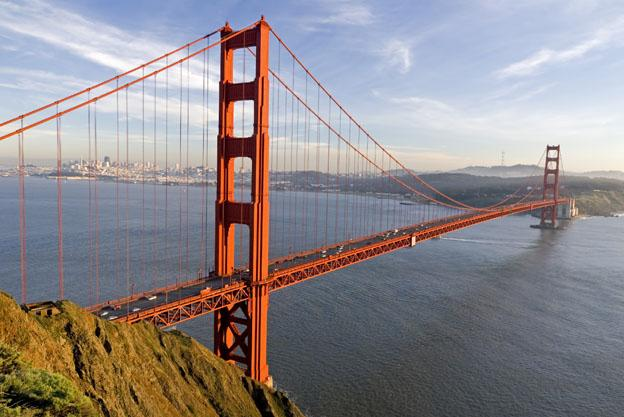Best things to see In California - golden gate bridge