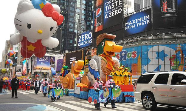 Thanksgiving Parade in the New York City