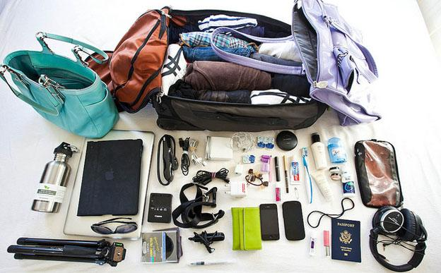 packing your luggage for travel