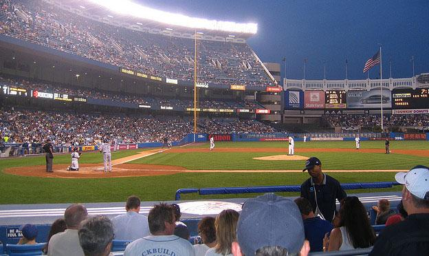 Visiting the New York City - Yankee stadium