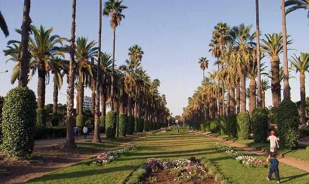 Casablanca city park
