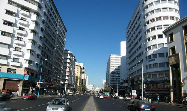 Casablanca city centre
