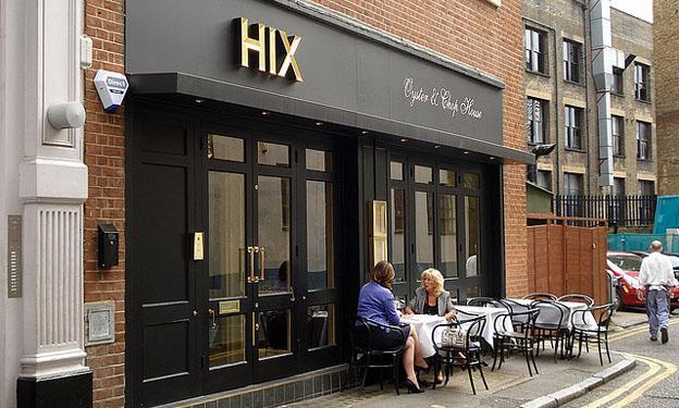 London's Top Restaurants - HIX Restaurant