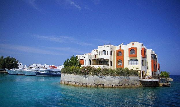 Hurghada City island