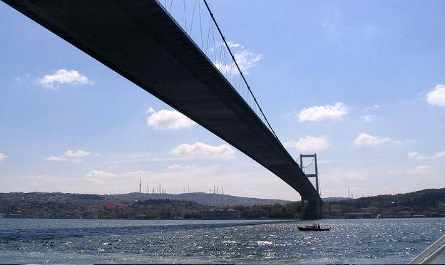 Istanbul city -Bosphorus Bridge