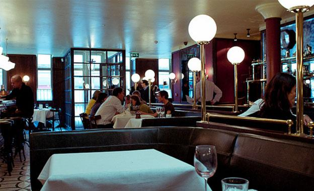 London's Top Restaurants - Les Deux Salons