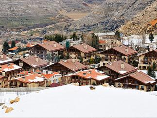 Unusual Ski Destinations - Mzaar, Lebanon