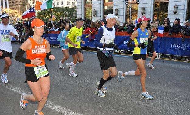 New York Sports Venues- New York City Marathon
