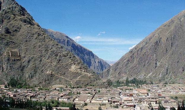 The modern Cusco City