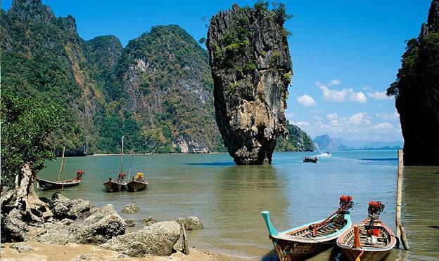 Travel In Southeast Asia - Phang-Nga Bga Bayay Phuket Thailand