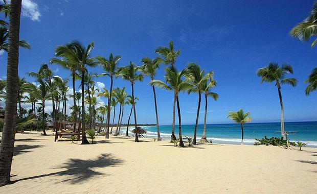 Punta Cana City beach
