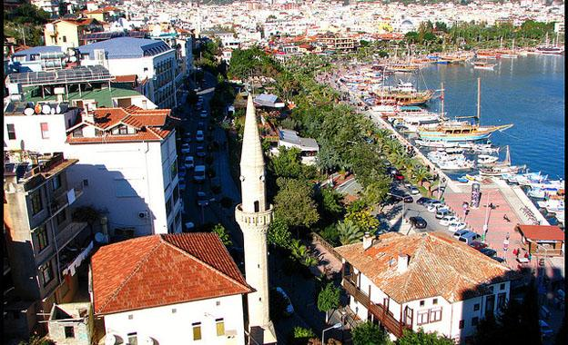 Antalya City old town