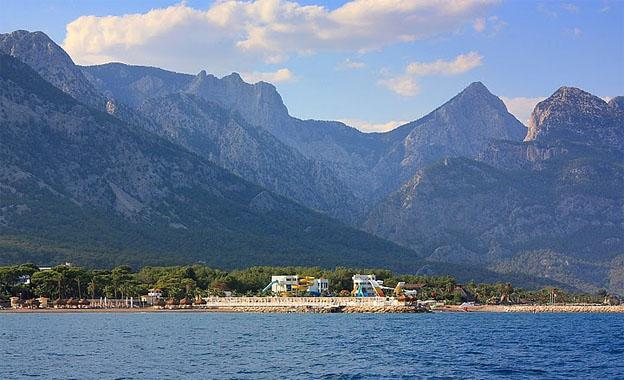 The climate at Antalya City