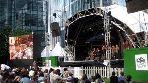 Canary Wharf Jazz Festival - London`s Local Music Scene