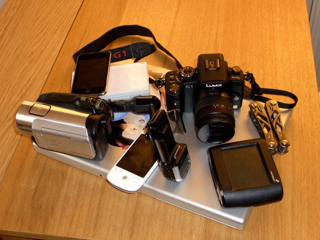 Gadgets taking on holiday