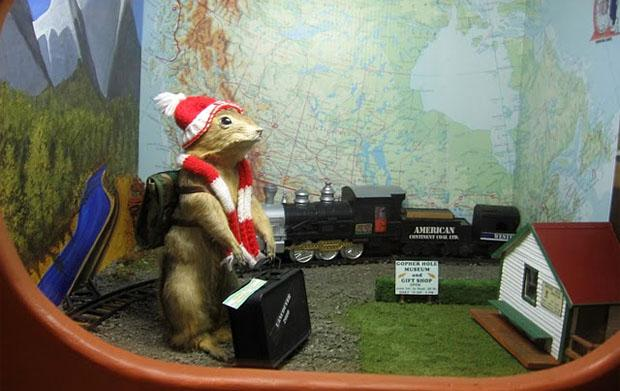 The World Famous Gopher Hole Museum