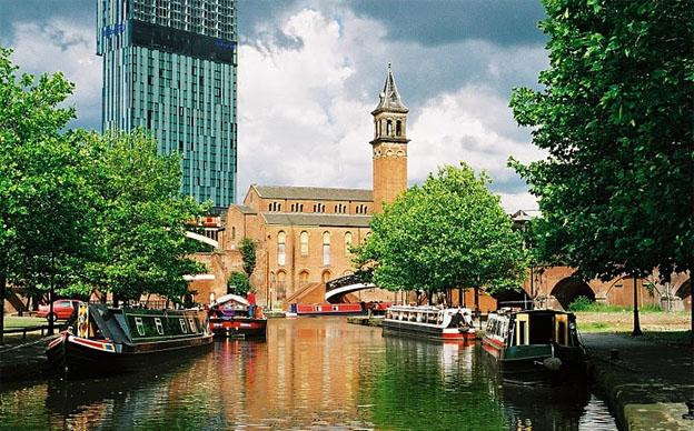 Castlefield the centre of the Historical Manchester
