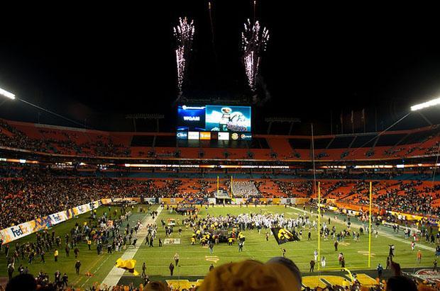 Orange Bowl in Miami City
