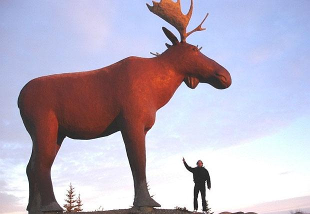 Moose Jaw, Saskatchewan in Canada