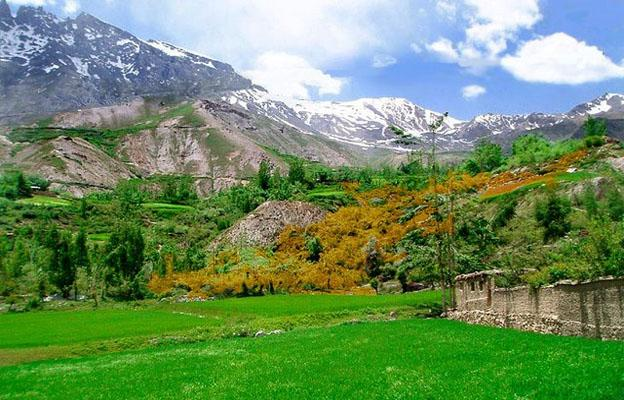 Remote Hunza Valley of Pakistan