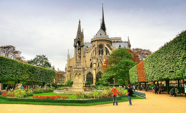 Notre Dame Cathedral in Strasbourg City
