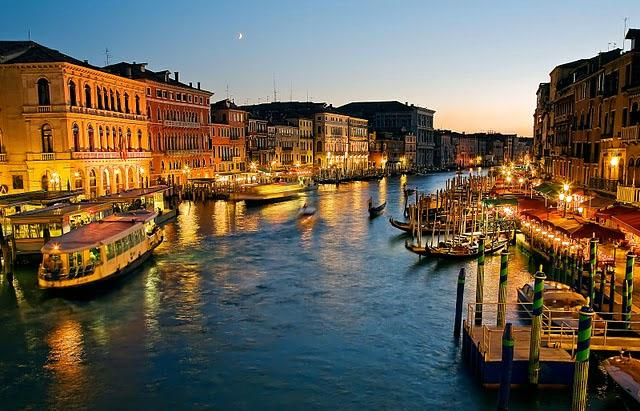 The Grand Canal - Venice city