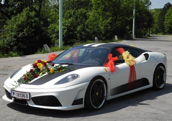 Get Married in New York City with a Ferrari