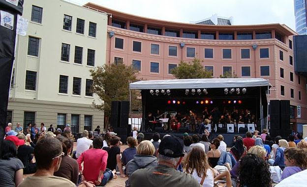 Jazz Festival at Wellington City