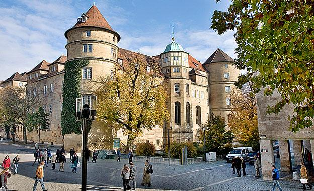 Altes Schloss at Stuttgart City