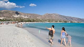 Family Attractions In Crete - Elafonisi beach
