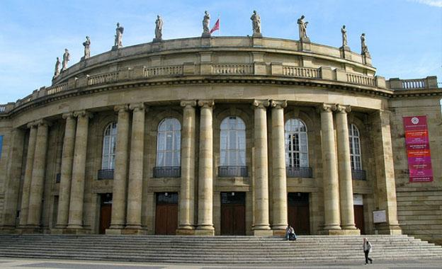 Staatstheater in Stuttgart City