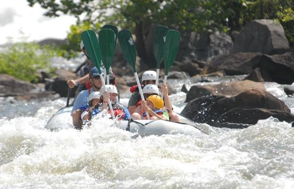 Water Rafting at Swaziland's Great Usutu River in 2015