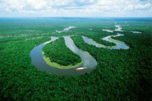 Students on a Real Adventure at Amazon river