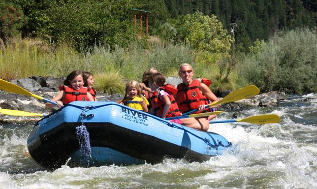 Family Vacation Ideas - kayak