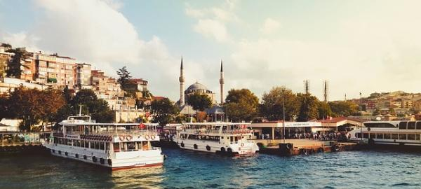 Mediterranean cruise - Istanbul port