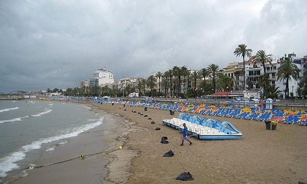Beach hotels in Sitges