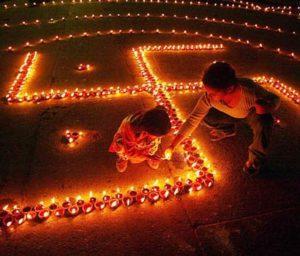 Round the world trip to Diwali